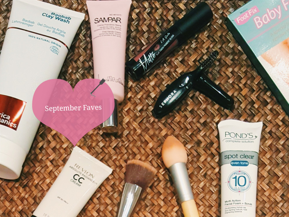 September Beauty Bloggers Favourites