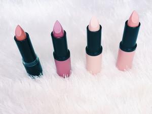 Essence Catrice Nude Lipsticks
