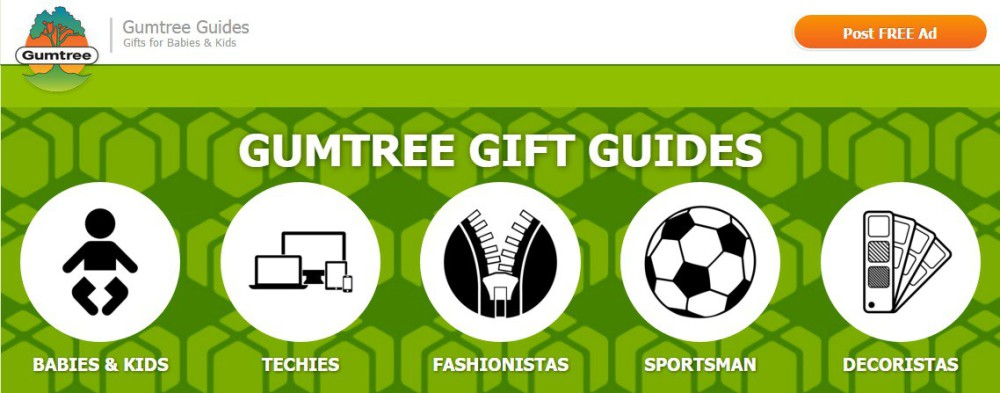 gumtree Gift Guides