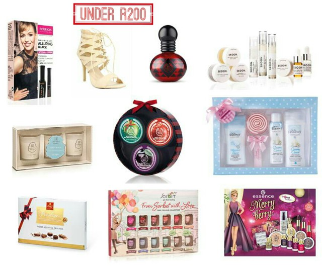 Budget Beauty gift guide south africa