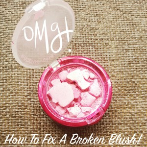 How to fix a broken powder