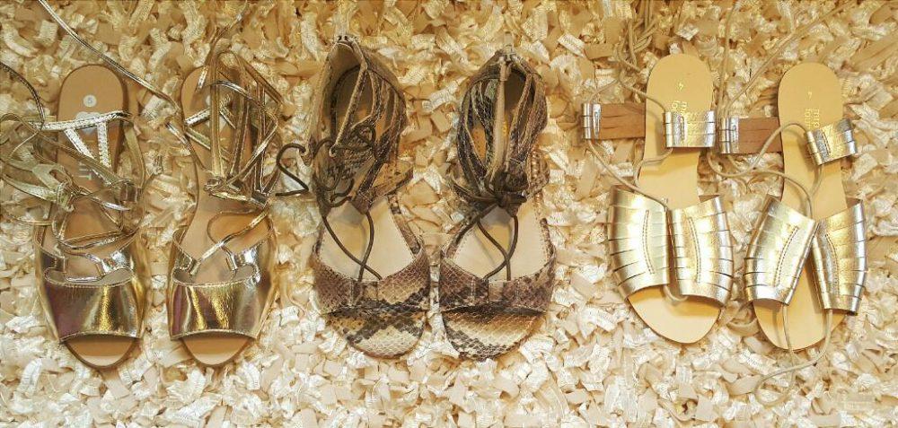 Legit Gold Sandals