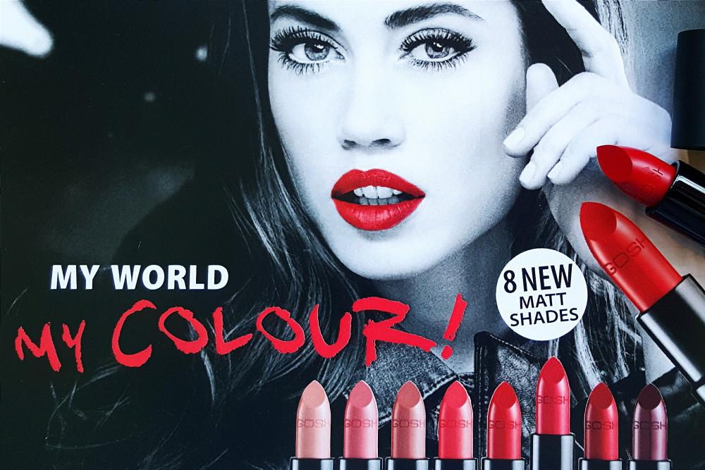 Gosh Matte Lipstick
