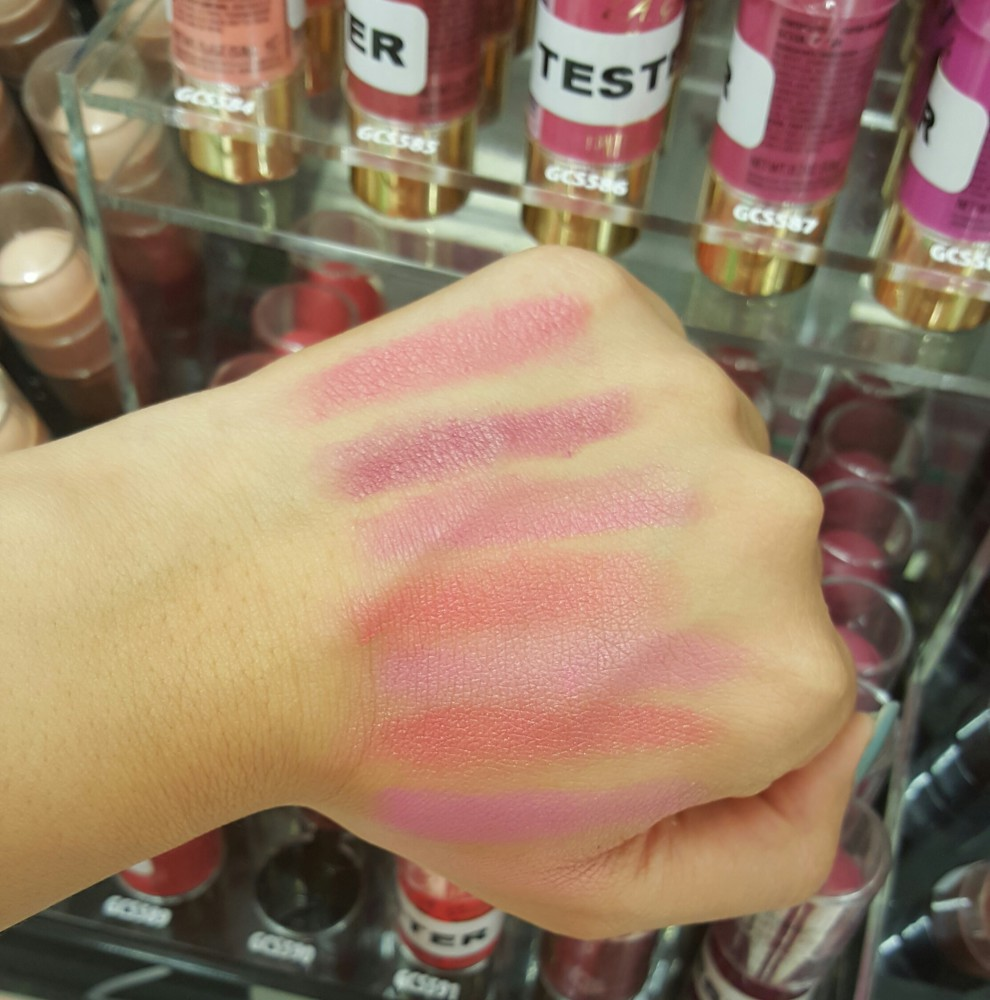 LA Girl Velvet Contour Stick Blush Swatch