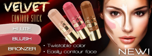LA Girl velvet contour sticks