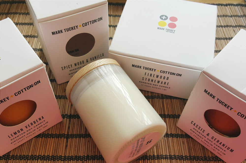 Cotton On Scented Candle