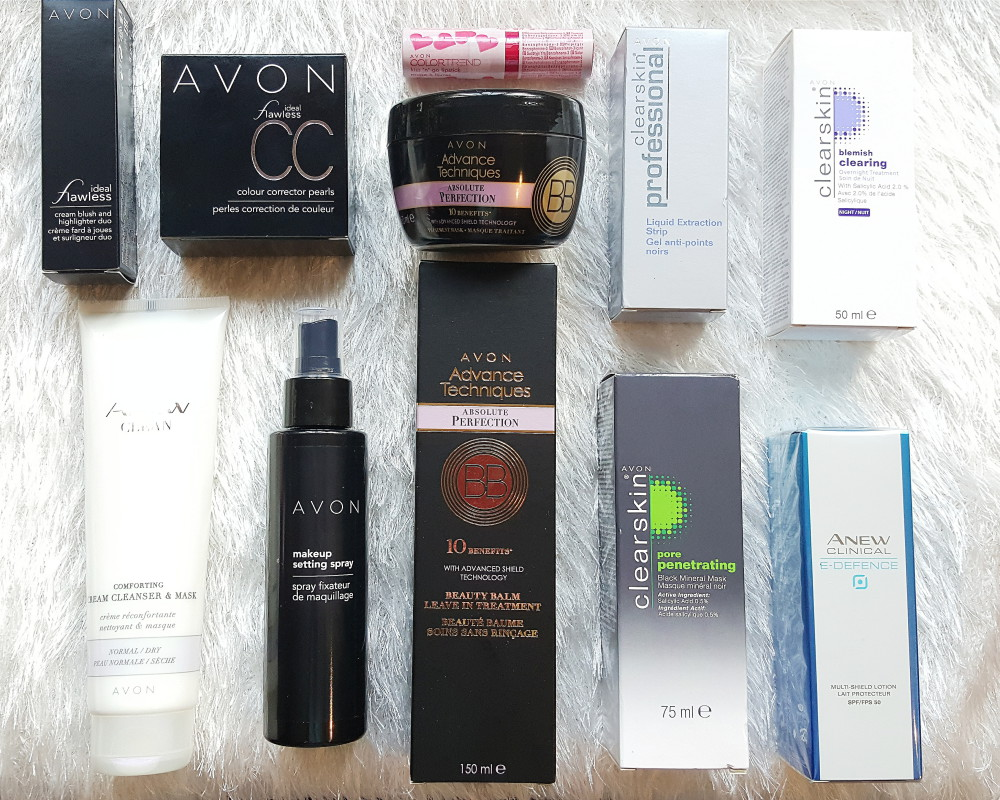 Avon South Africa Beauty Blogger Haul