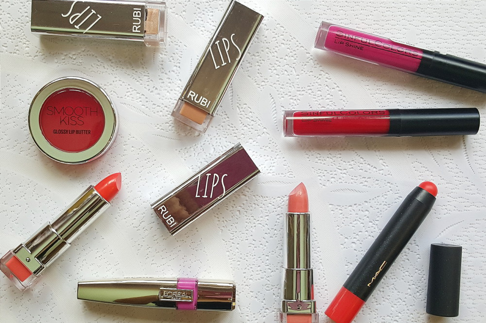 Sinful Lip colours
