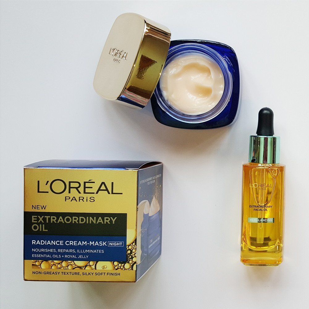 L'Oreal Oil Night Mask Review