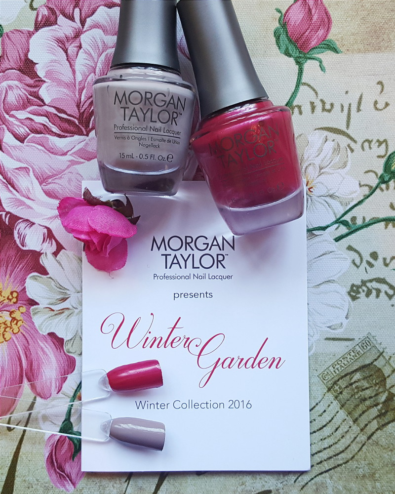 Morgan Taylor Winter garden Swatch