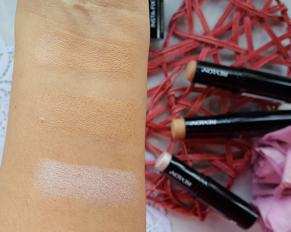 Revlon PhotoReady Insta-Fix Contour & Highlight Duo Review and Swatches