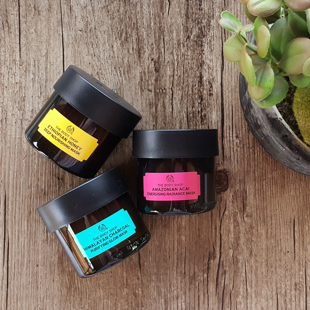 The Body Shop new face masks