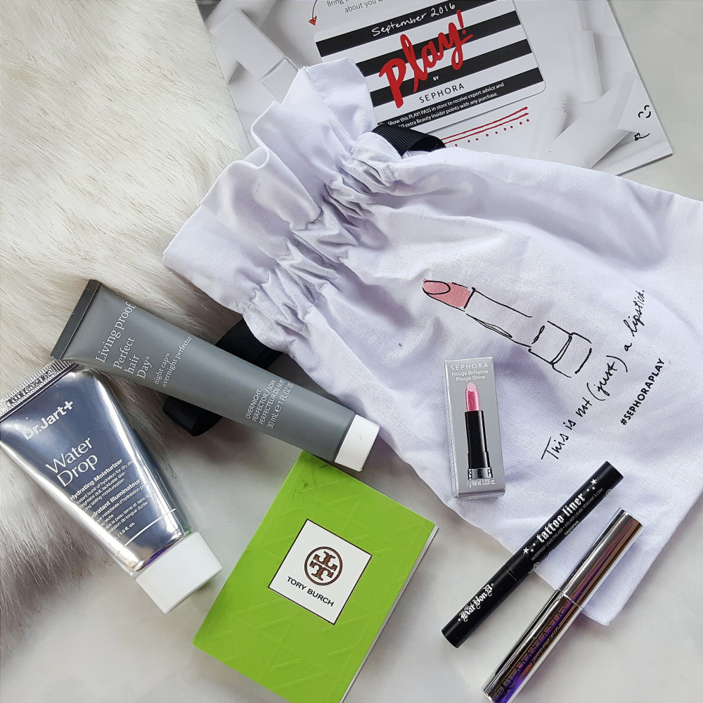 Sephora September Play Box
