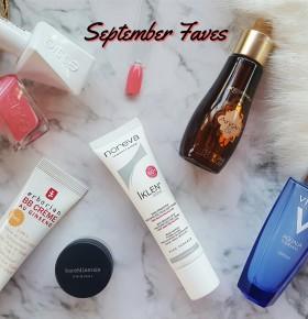 September Beauty Favourites