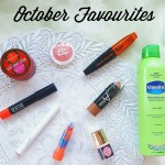 October Beauty Favourites!