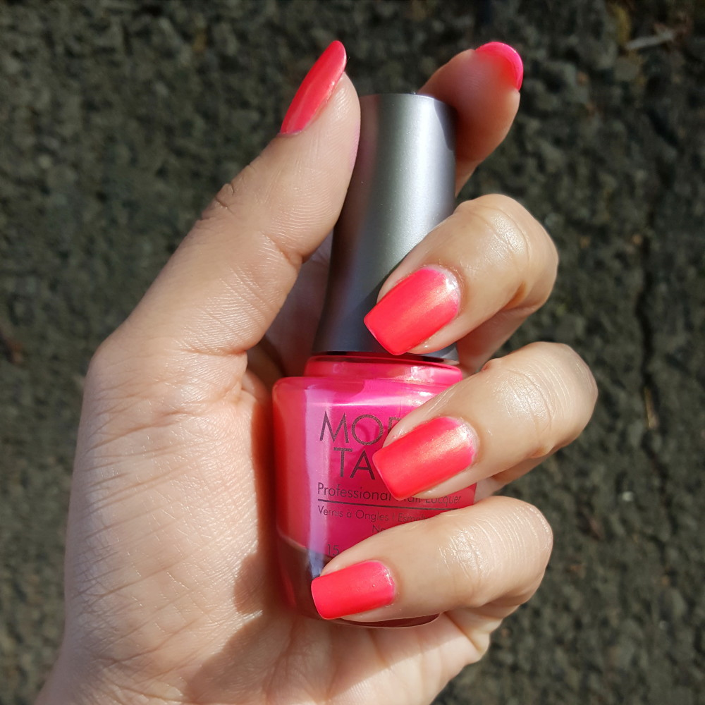Morgan Taylor Street Beat Summer 2016 Collection Hip Hot Coral Swatch