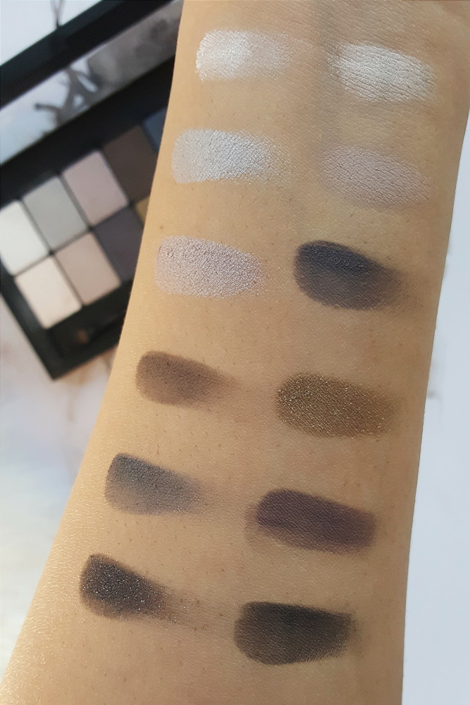 Maybelline The Rock Nudes: Review and Swatches