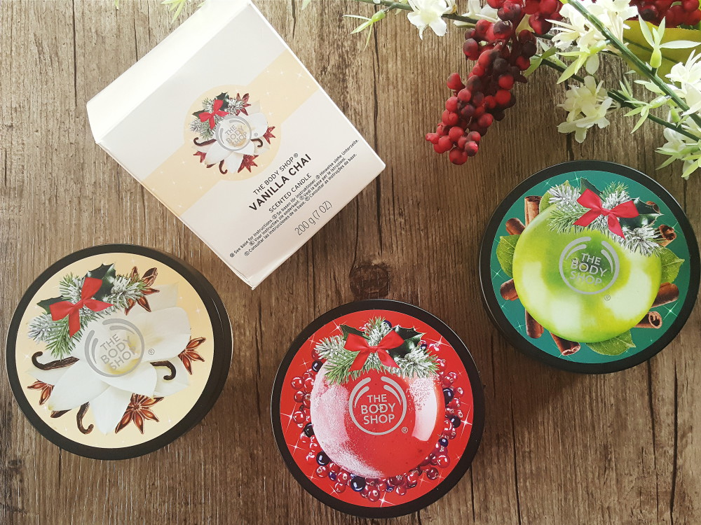 The Body Shop Christmas Collection 2016