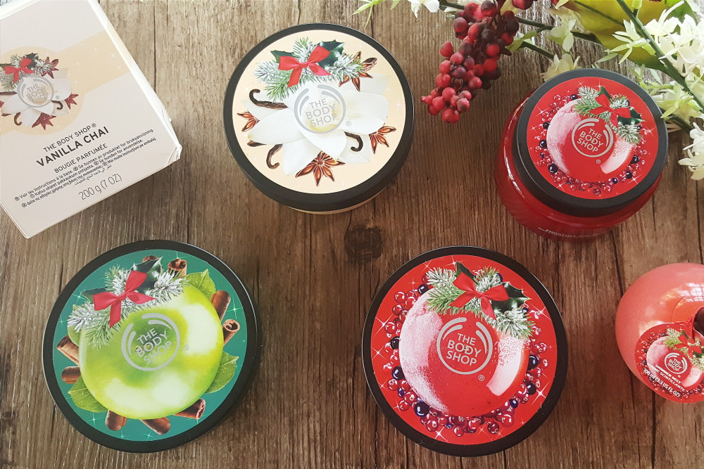 New from The Body Shop: Christmas, Candles and Lipstick Colours!