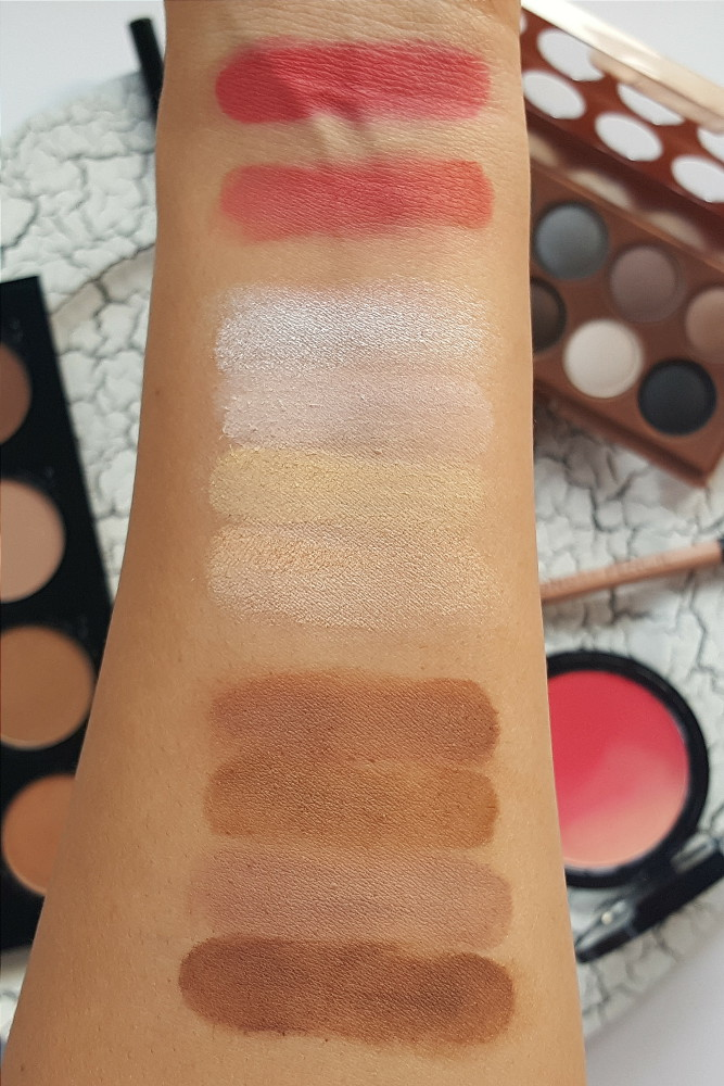 NYX Contour Kit Review and Swatches