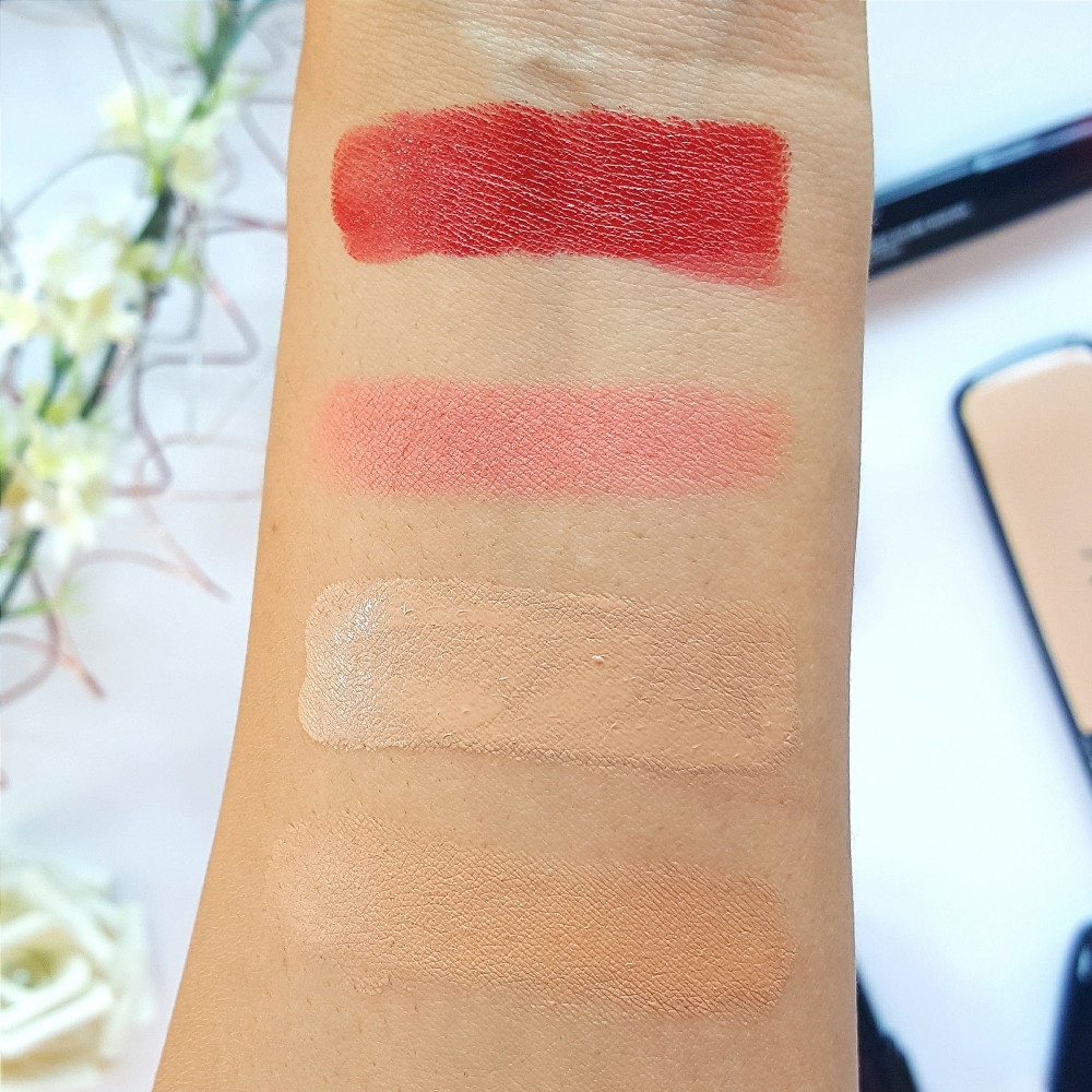 LOV Cosmetics Review and Swatches