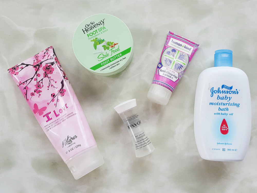 January Beauty Favourites plus empties