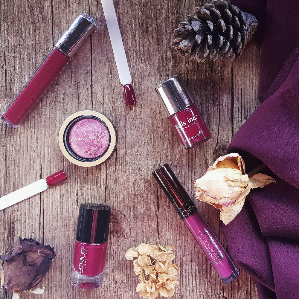 Berry Makeup Picks for Fall