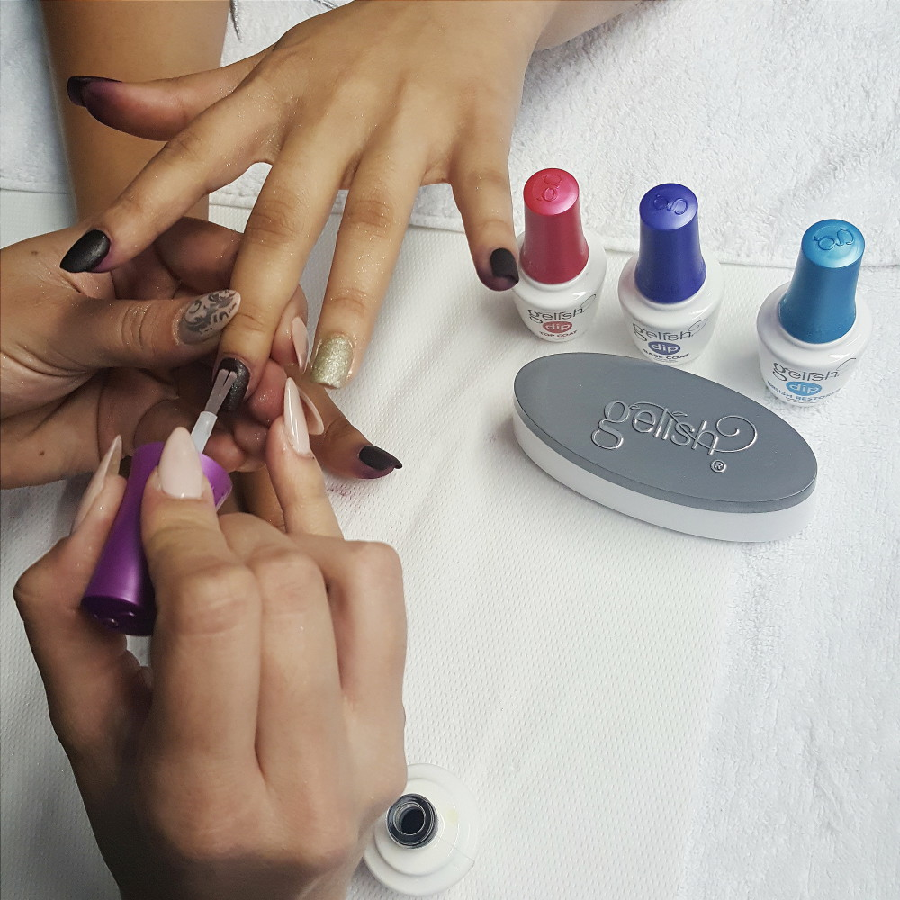 Gelish Dip How TO