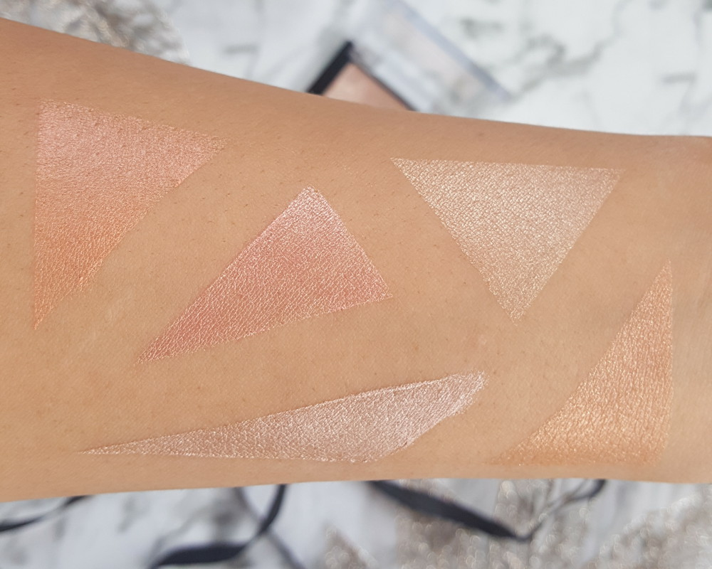 Wet n Wild MegaGlo Limited Edition Highlighters review swatch