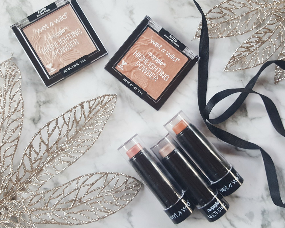 Wet n Wild MegaGlo Limited Edition Highlighters Clicks