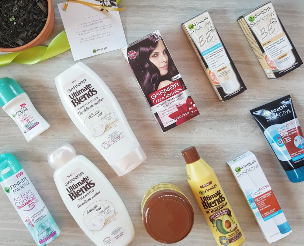New Garnier Product Launches