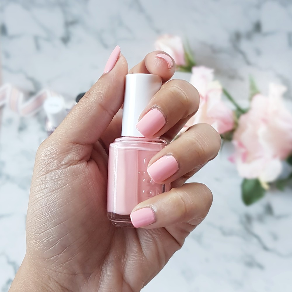 essie gel•setter 3D Pop Tint Review in pink- inflight ...