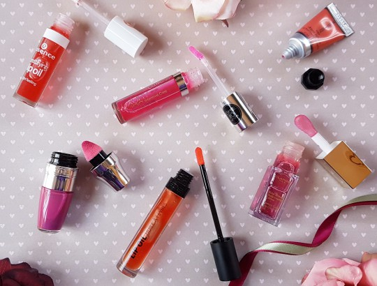 Favourite Tinted Lip Oils for Winter