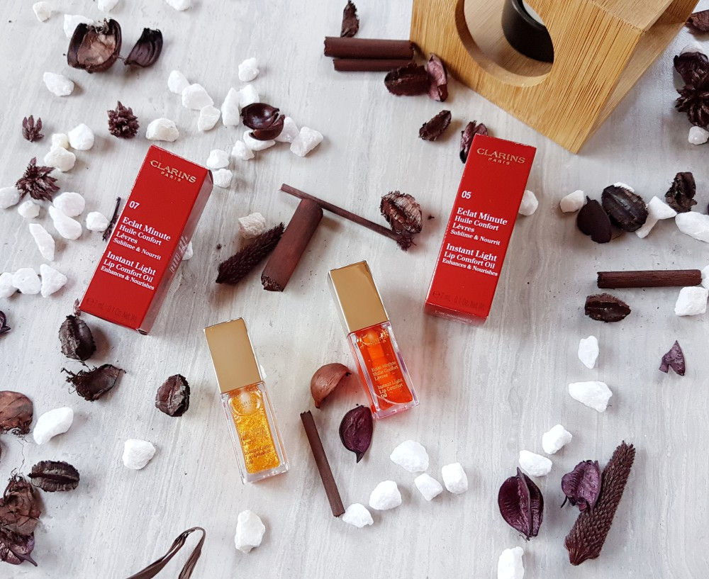 Clarins Lip Oil Review Swatches