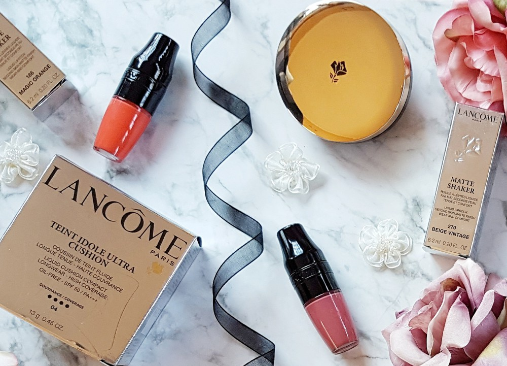 June Beauty Haul Lancome