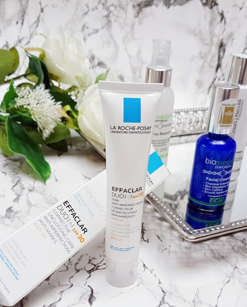 New Skincare on Trial La Roche-Posay Effaclar Duo SPF 30