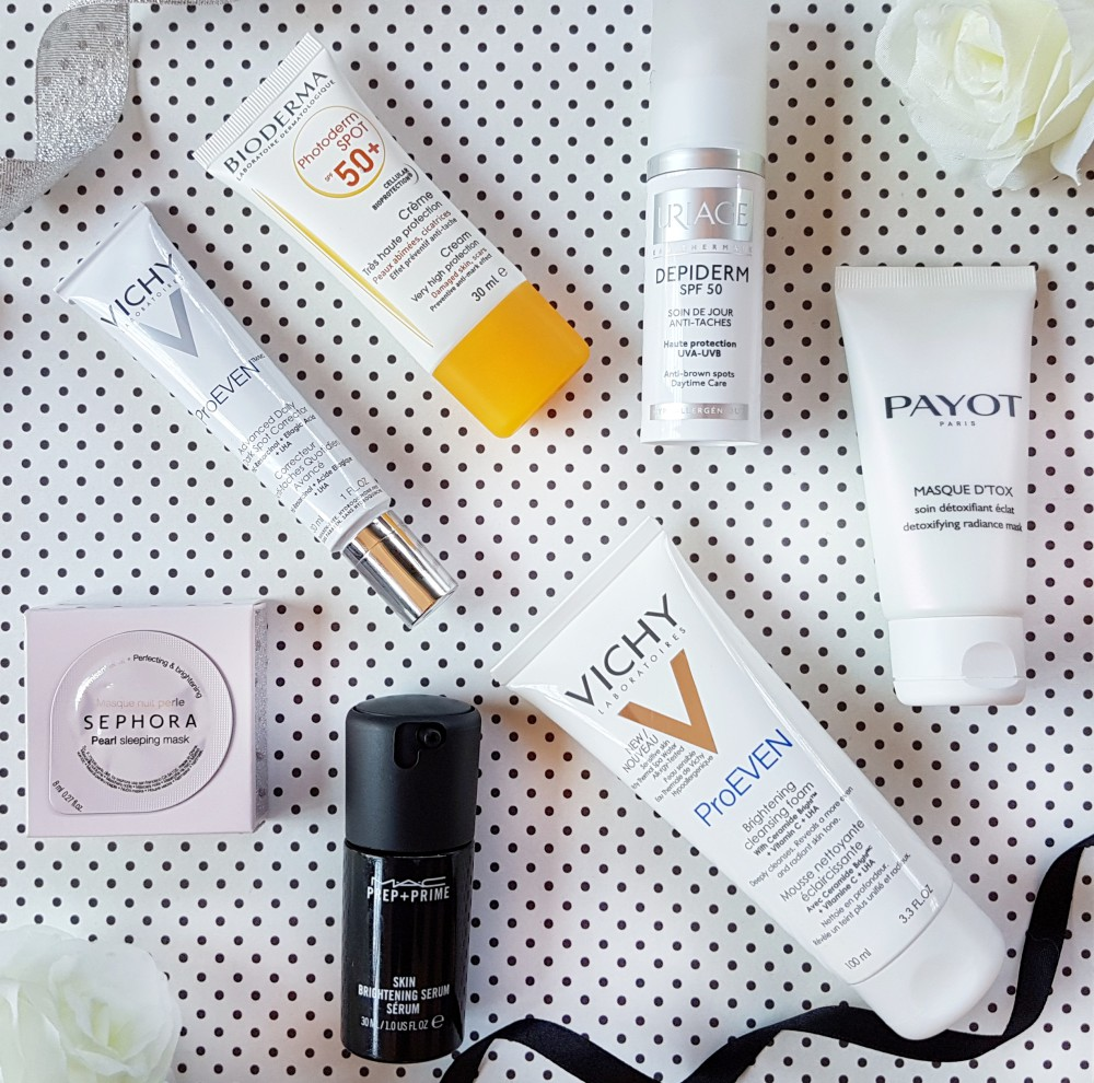 Skincare for brighter more even skin tone