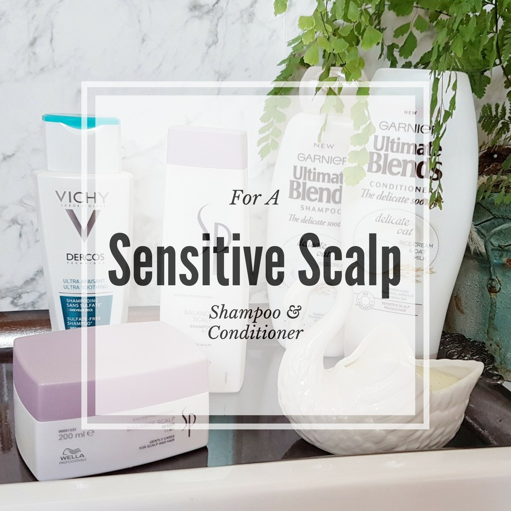 Sensitive Scalp Shampoo and Conditioner