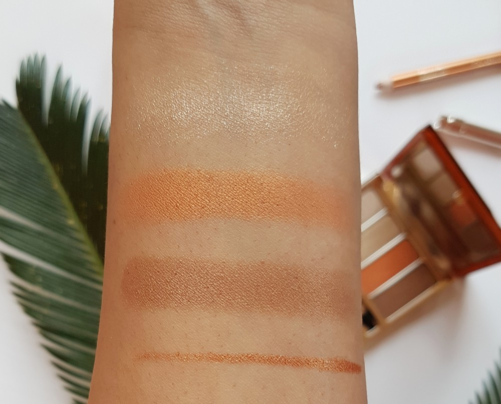 Clarins Summer Limited Edition Tropical Swatches