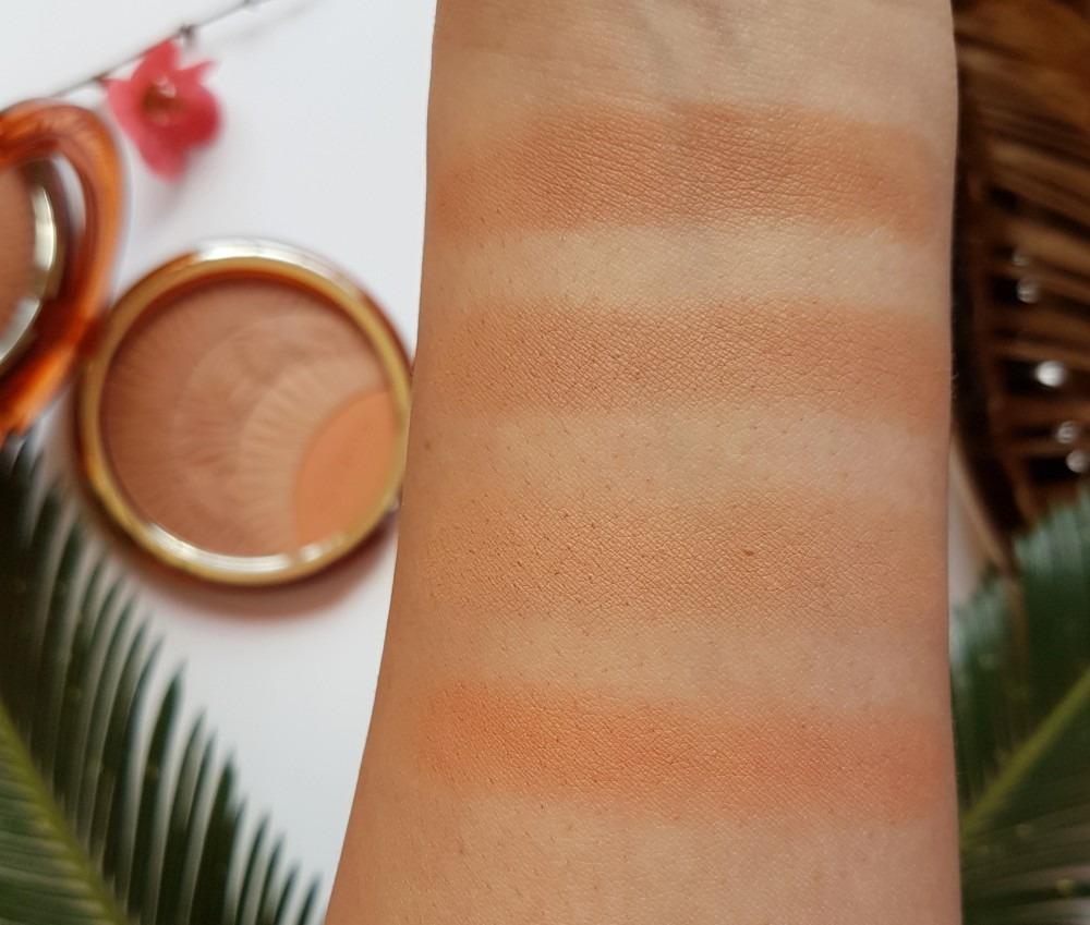 Clarins Summer Limited Edition Tropical Bronzer Swatches
