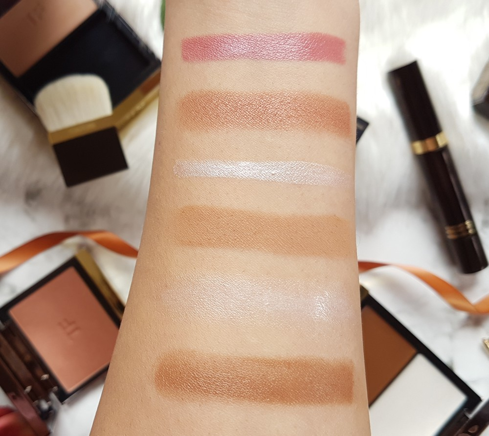 Tom Ford Makeup Review and Swatches