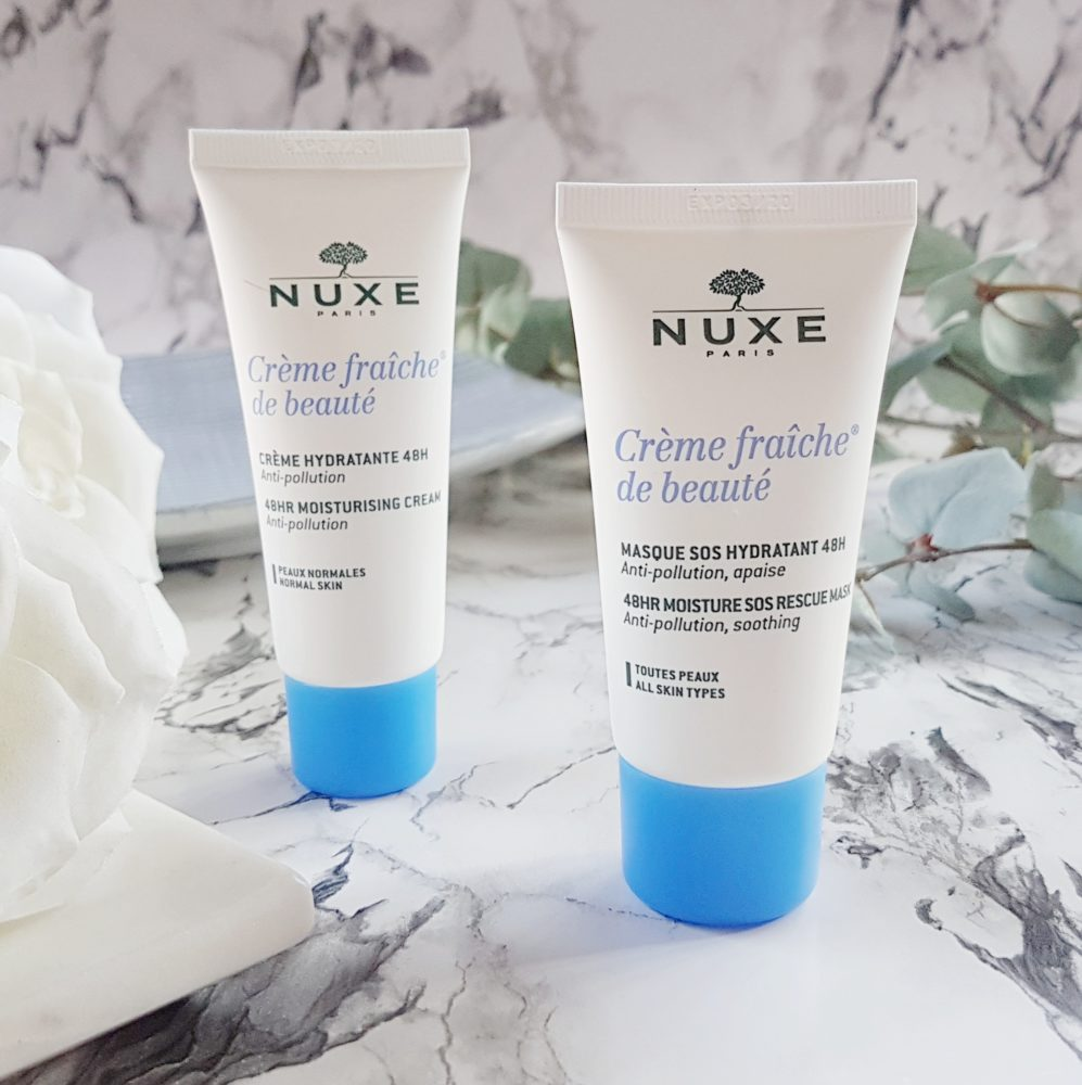 New Skincare on Trial Nuxe Creme Fraiche Hydration