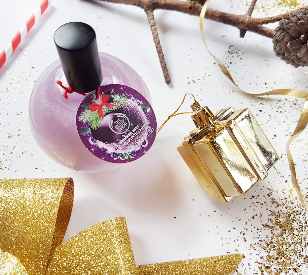 Christmas with The Body Shop Frosted Plum