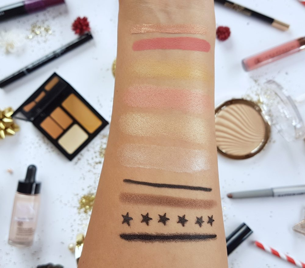 Festive Makeup Edit with Swatches