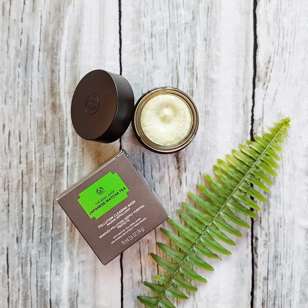 New Skincare from The Body Shop Matcha Mask