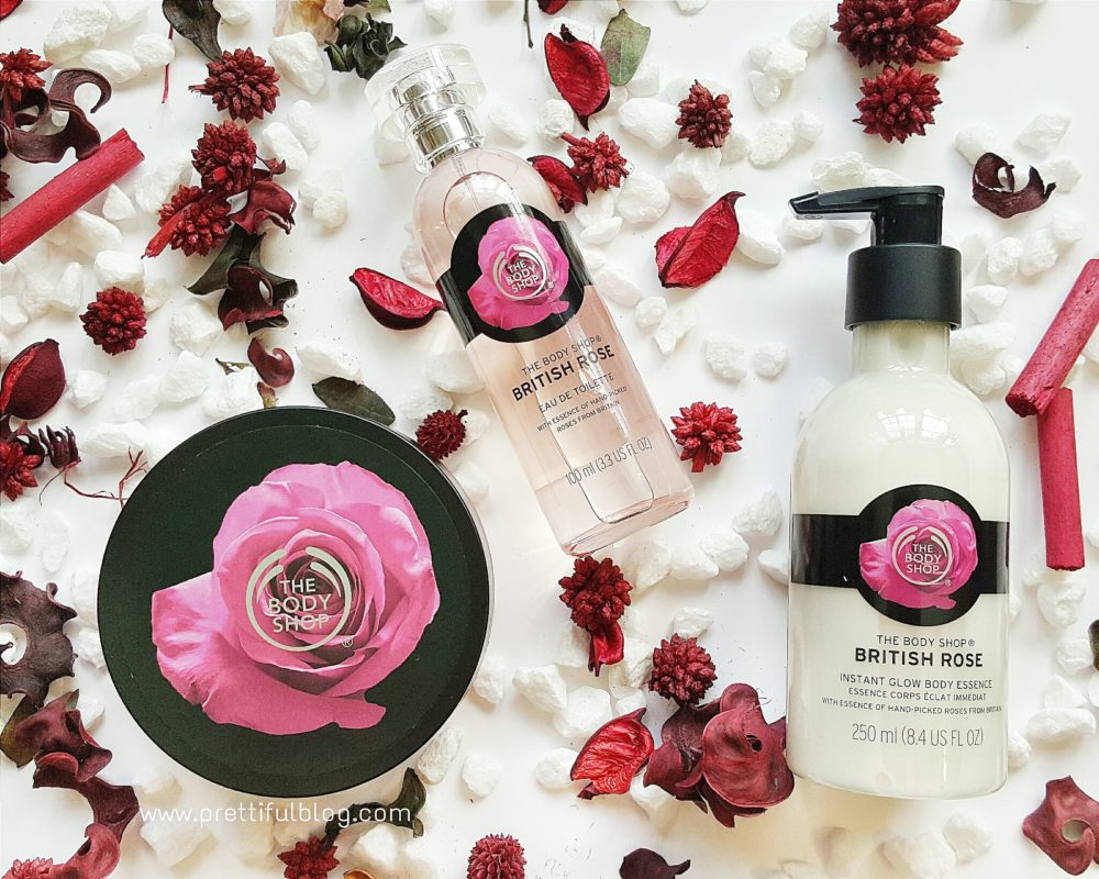 The Body Shop British Rose Review