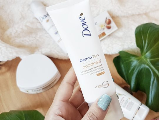 Dove DermaSpa Hand Cream Review