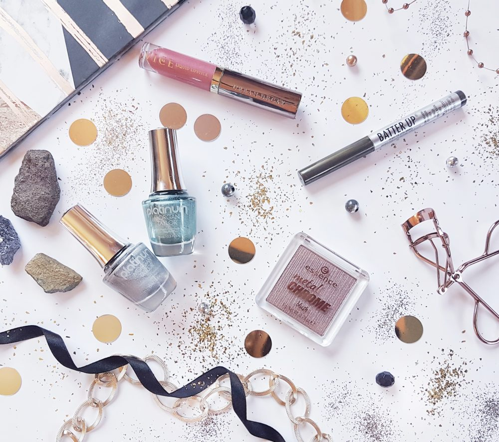 The Metallic Beauty Edit