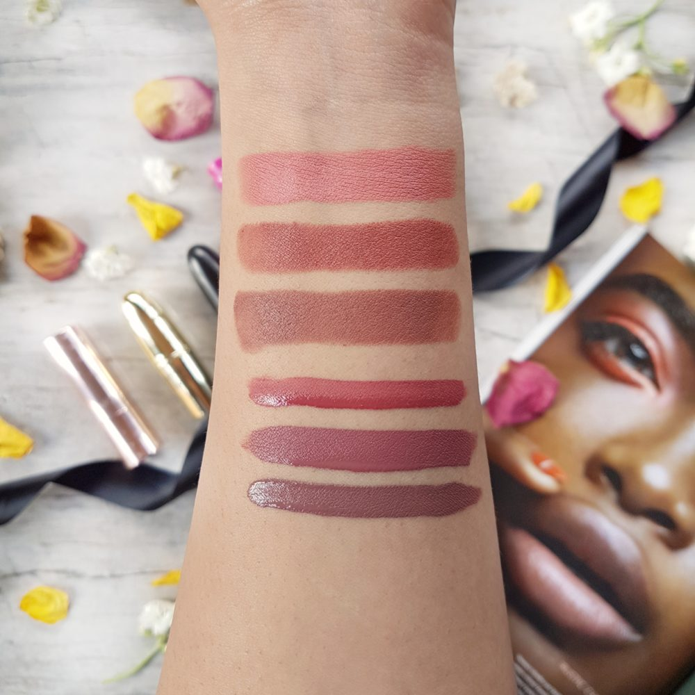 Nude Matte Lipstick Swatches