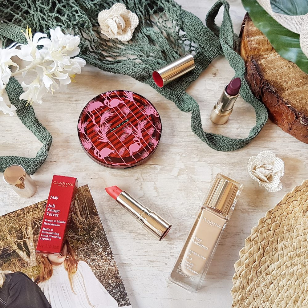 New Launches from Clarins Flamingo Bronzer